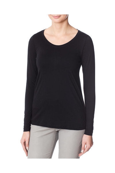 InWear Rena Long Sleeve T-shirt in black
