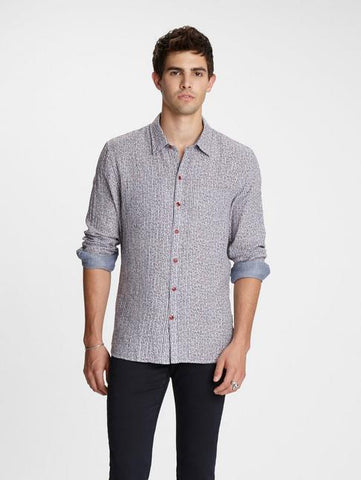 John Varvatos NEIL REVERSIBLE SHIRT Antique Rose