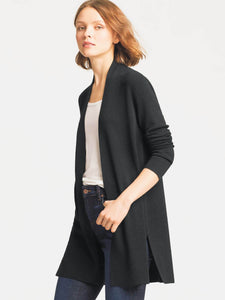 Eileen Fisher Straight Ultrafine Merino Long Cardigan UO