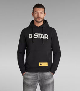 G-STAR Hooded Sweater - Dark Black