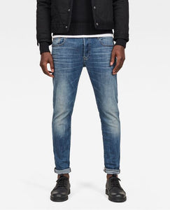 G-STAR Men's 3301 Slim vintage medium aged