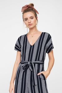 Rails Angela striped jumpsuit