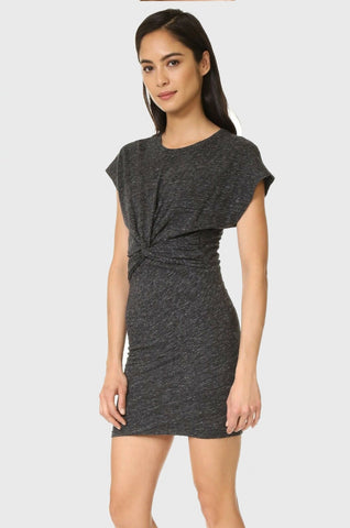 IRO Pier S/S Dress - Dark Grey