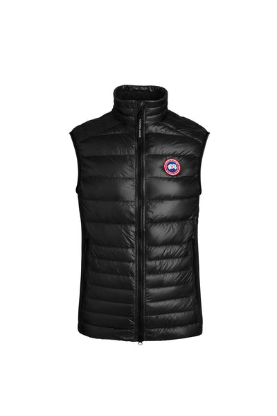 Canada Goose Men's Hybridge Lite Tech Down Vest  - Black