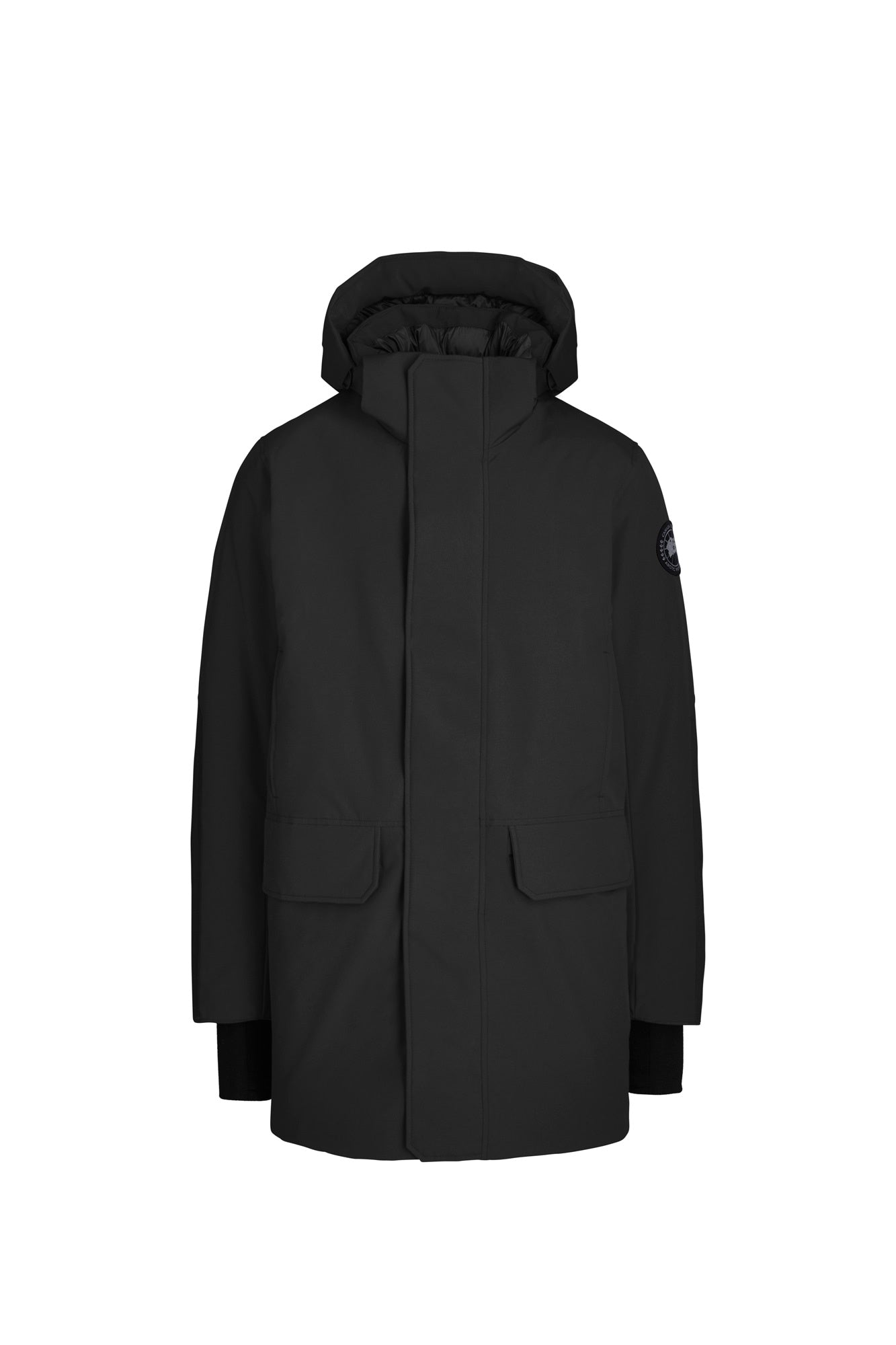 Canada Goose Men's BROCKTON Parka Black Label - Black