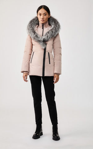 Mackage Adali-XR Classic Down Jacket in Petal