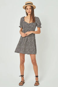 Auguste Marlowe Chloe Dress in Charcoal