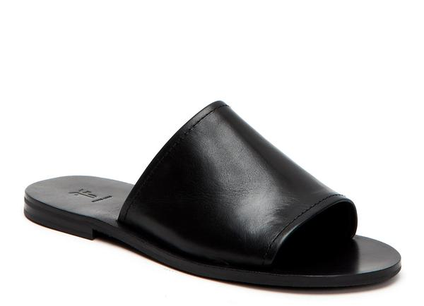 Frye Riley Slide - Black