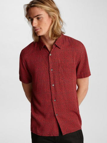 John Varvatos TRENT EASY FIT SS  Poppy