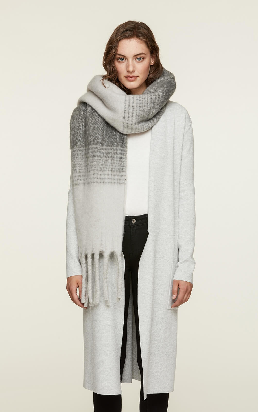 Soia&Kyo Maribel8F Thick Scarf