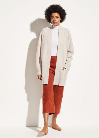 Vince Cashmere Raglan Sleeve Cardigan in Marble