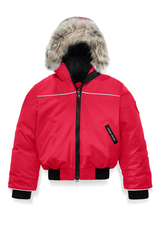 Canada Goose Kids Grizzly Bomber - Red