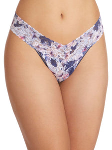 hanky panky original rise thong in floral breeze