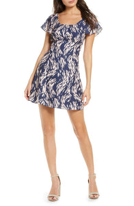 Ali & Jay Elevated Taste Mini Dress in Navy