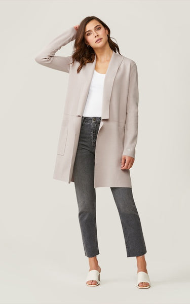 Soia & Kyo Benela-N Mid-Length Coatigan with Pockets
