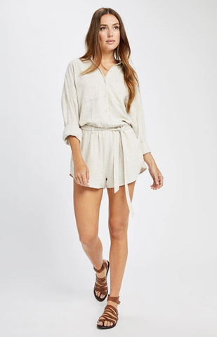 Gentle Fawn Nevada L/S Button Front Romper