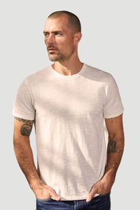 Velvet Men's Dion01 Original Crew Neck Tee - White