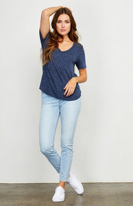Gentle Fawn Vanessa S/S V-Neck Top