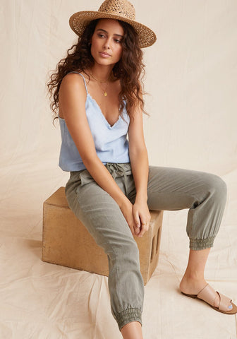 bella dahl easy jogger in soft touch tencera