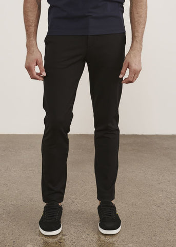 Patrick Assaraf Stretch Chino Pant - Black