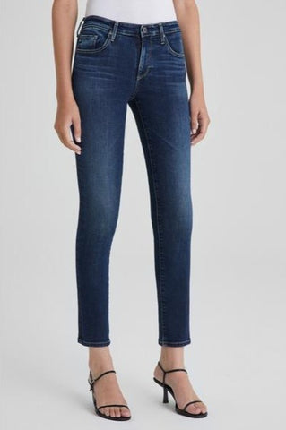 AG Prima Ankle Cigarette Jean in Submerged