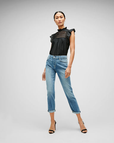 Seven For All Mankind Josefina Slim Boyfriend in BLBT
