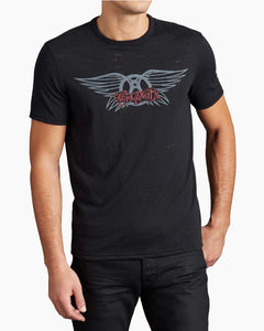 John Varvatos AEROSMITH WINGS GRAPHIC TEE