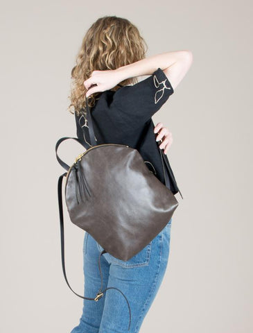 eleven thirty Anni Large Backpack in steel