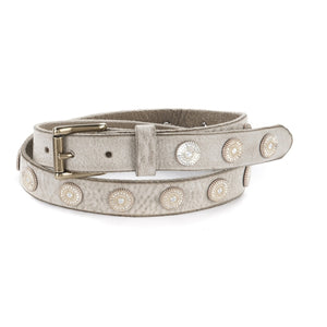 Brave Bellsie narrow belt with studs