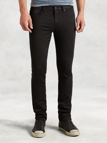 John Varvatos Bowery Stretch Jean - Black