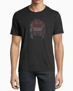 John Varvatos CBGB JACKET GRAPHIC TEE