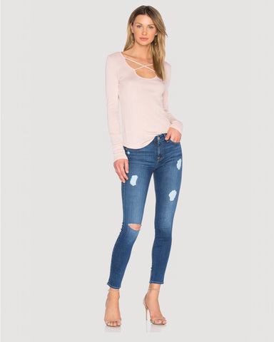 7 For All Mankind Ankle Skinny DUC2