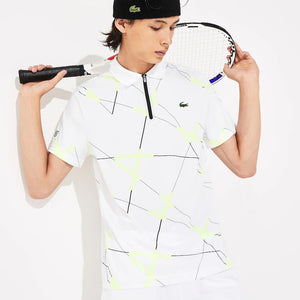 Lacoste Men's SPORT Graphic Print Tennis Polo DH8490-52