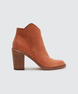 Dolce Vita Shep Cognac Leather Boot