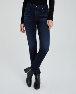 AG Mari Hi-Rise Slim Straight in 3Year Inquire