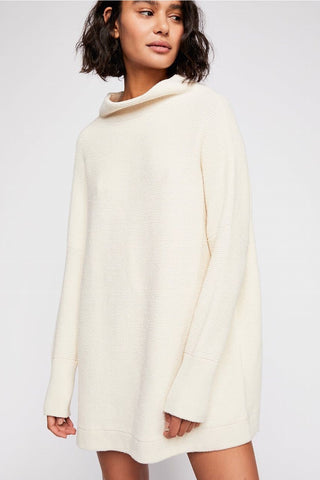 Free People Ottoman Slouchy Tunic in Ecru