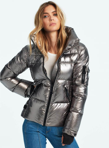 SAM Freestyle Down Jacket Gun Metal