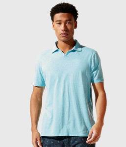 Good Man Brand Premium Heather Polo - Blue Topaz Heather