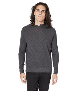 GoodMan Brand MVP V-Notch Sweater Charcoal Heather