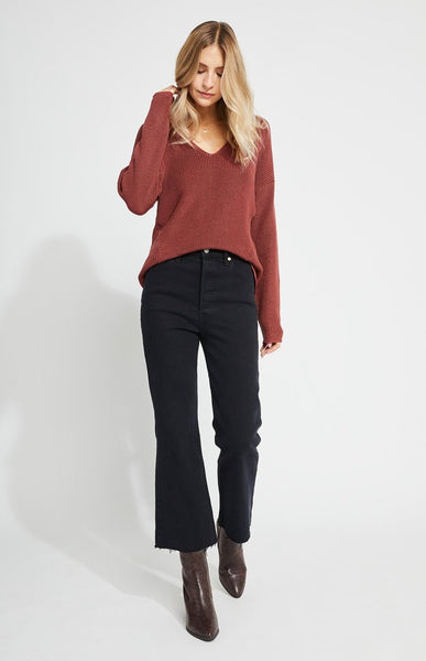 Gentle Fawn Tucker v-neck sweater