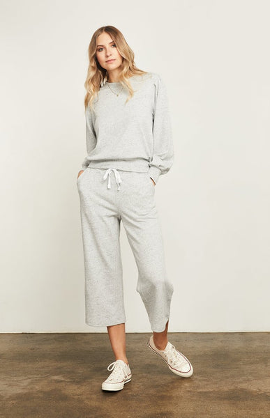 Gentle Fawn Hope french terry sweatshirt in heather grey