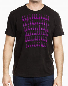 John Varvatos GUITAR ROWS GRAPHIC TEE
