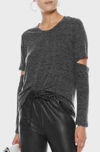 IRO ILRIER Top - Anthracite