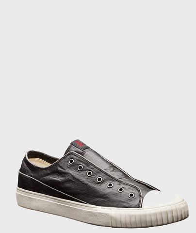 John Varvatos Bootleg Laceless Low Top - Black