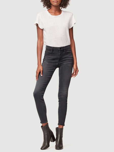 FRAME Le High Skinny jeans in Burton wash