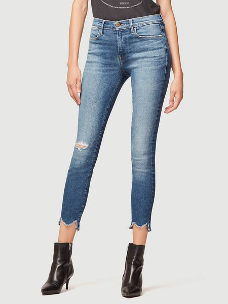 FRAME LeHigh Skinny Front ChewH8 Jean