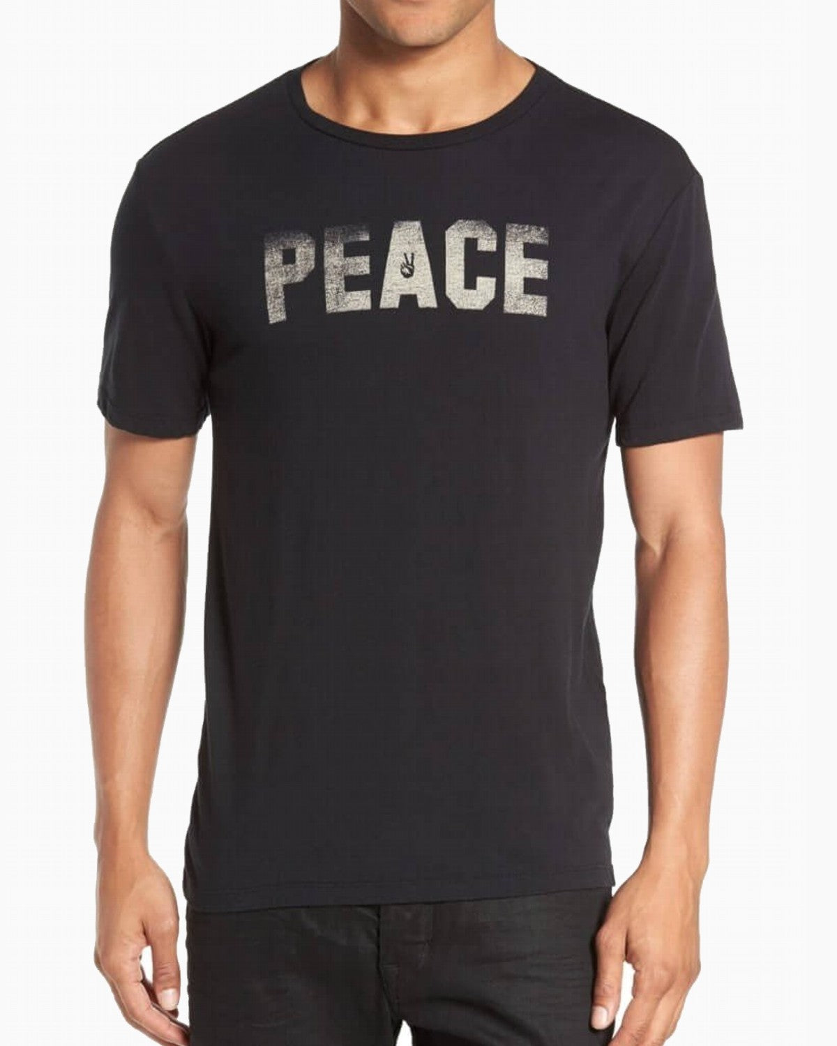 John Varvatos PEACE & FREEDOM GRAPHIC TEE