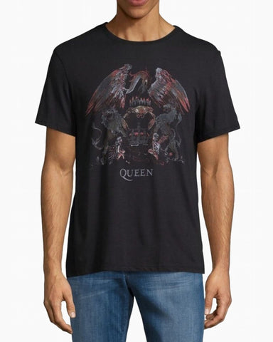 John Varvatos QUEEN CREST GRAPHIC TEE