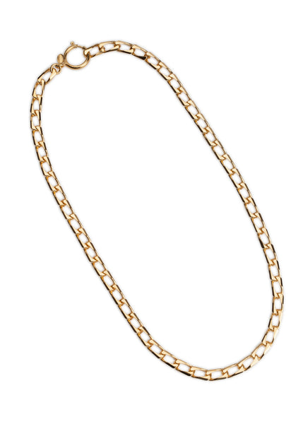 Cuchara Roberta open link chain in silver