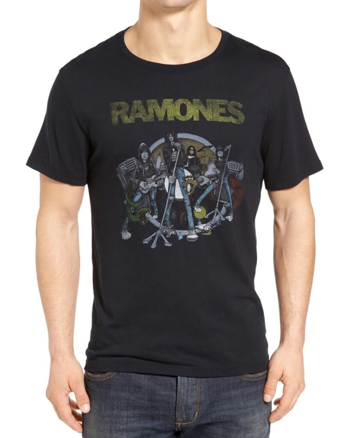 John Varvatos RAMONES ILLUSTRATION GRAPHIC TEE